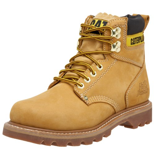 "Caterpillar Second Shift 6"" Plain Soft Toe Work Boot"