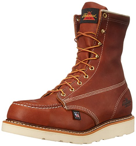 Thorogood Heritage Safety Toe 8 Inch Work Boot