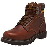 "Caterpillar Second Shift 6"" Plain Soft Toe Best work boots"